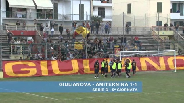 Giulianova – Amiternina 1-1