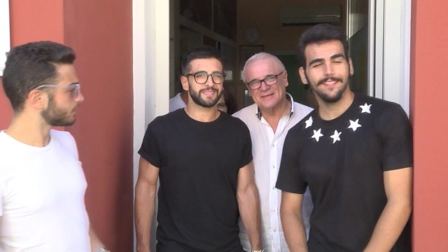 Il Volo in visita all'Agbe